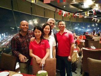 Customer Visit - In Chinese restaurant