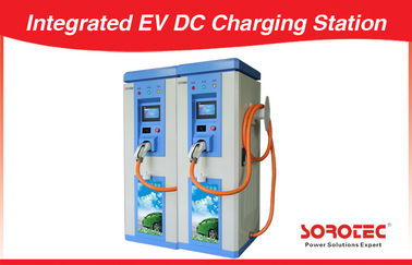 High Safety Uninterrupted Car Charging Stations Color Touch Screen Display