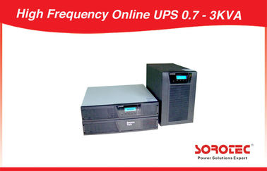 China Computers 3kva Rack Mount Ups Backup Power Supply 0.9 Output Power Factor supplier
