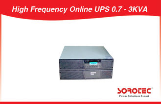 China 3kVA Rack Mountable  Online UPS 110V / 220V AC 0.9 Power Factor factory