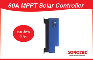 China High Efficiency 99.5% 100A MPPT Solar Controller , Solar Charge Controller for PV Systems factory