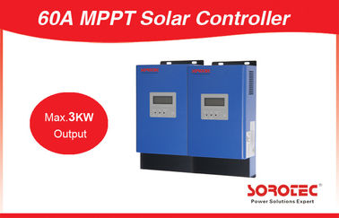 60 - 115VDC MPPT Solar Controller , Wet / AGM / Gel Batteries MPPT Solar Regulator