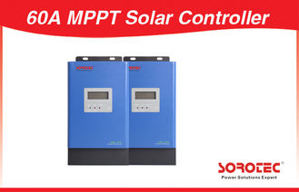 China 800W 60A Max 3000W 12V MPPT Solar Charge Controller for Solar System factory