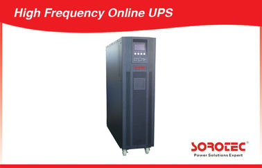 China 10KVA 9KW  3 Phase High Frequecy Online UPS Uninterruptible Power Supply with  RS232 factory