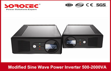 China 500VA 3000W LCD Display Modified Sine Wave Inverter Power Supply with AC Charger factory