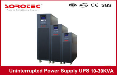 China 10KVA 9KW High Frequency Online Uninterrupted Power Supply , desktop 3 Phase UPS factory