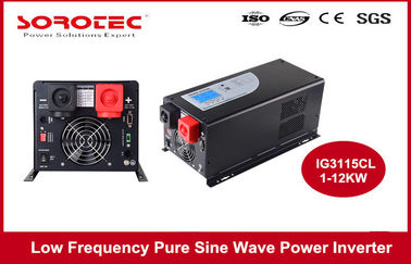 China 1-6KW Utility / Generator Sine Wave Power Inverter with Remote Control Function , CE ROHS supplier