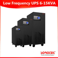 China 6-15KVA Black Color GP9111C 1 Ph in / 1 Ph out Low Frequency Online UPS supplier