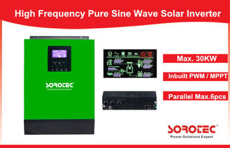 China 1-5KVA MPPT Solar Controller Pure Sine Wave Inverter for Home Use supplier