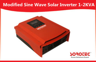 China LCD Display Audible and Visual Alarm 1000-2000VA Solar Power Inverter factory