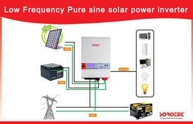 Low Frequency 1 - 6kw Home Solar Power System Off - Gird 3kw 220V