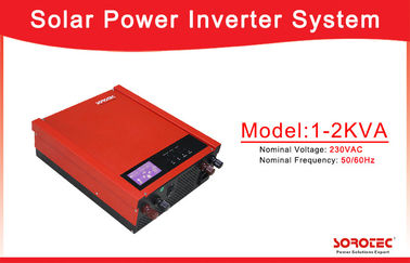China High Frequency Solar Power Inverters / 40A PWM Solar Based Inverter with 1KVA ~2KVA Capacity factory