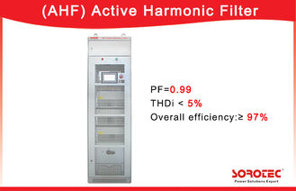 China 400V/50A  Active Harmonic Filter APF PF 0.99 with RS485 Network Communications Ports supplier
