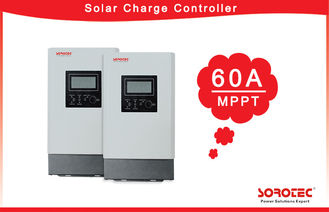 Auto-Detection MPPT Solar Charge Controller 12VDC/24VDC/48VDC  60A Charge Current