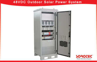 Complete Solar Power System 48V DC Power Supply Protection Degree IP55,With remote monitoring system operation