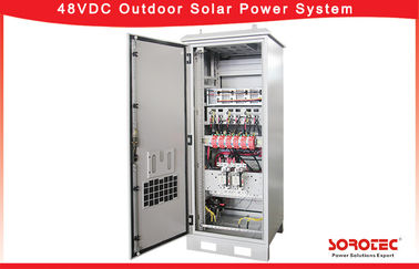 Overcharge Protected Telecom Solar Power Systems , Hybrid Solar System With Audible Alarm