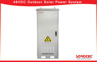 Outdoor Solar Systems 48V DC Power Supply , 45-65HZ AC input Frequency range