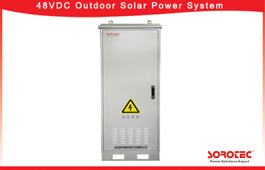 Outdoor Solar Systems 48V DC Power Supply , 45-65HZ AC input Frequency range,Remote Monitoring