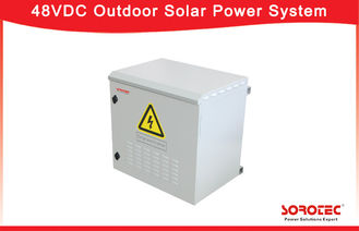 Hot Pluggable 48VDC Outdoor Installation Telecom Solar Power System SHW48100