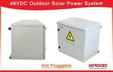Hot Pluggable 3000w 50A Solar Power Supply For Telecom Base Station