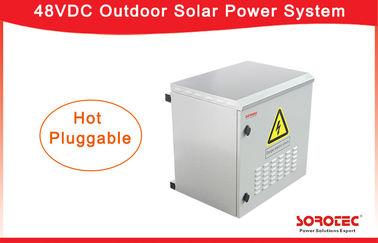 Hot Swappable 220V 48V DC Power Supply MPPT Solar Controller with 50A Input Current