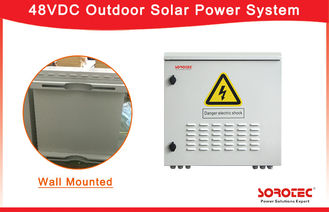 Wall Mounted Telecom Solar Power Systems With Reverse Polarity Protection SHW48100