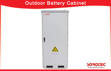 IP55 Waterproof Solar Battery Cabinet /  Outdoor Equipment Cabinet Saving Energy