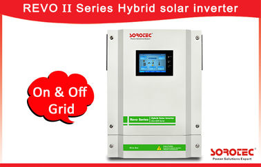 Touch screen Solar On Grid Off Grid Hybrid Inverter with 120-450VDC MPPT Range