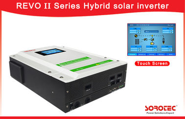 China 1 Ph in / 1 Ph out 3kW 3.2kW5.5kW Hybrid Solar Inverter with Lcd Touch Screen supplier