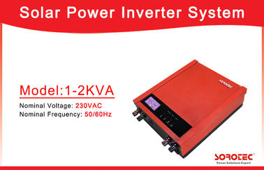 China 1000VA 2000VA Off Grid Solar Power Inverters with 50A PWM Solar Charge Controller factory