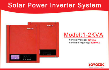 China High Frequency 50Hz/60Hz Solar Power Inverters with Over-load Protection factory
