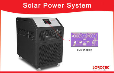 China 6kW Pure Sine Wave Solar Power Inverter System With LCD Display 230VAC 50 / 60Hz supplier
