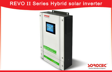 China 5500W Hybrid Solar Inverter / Hybrid Solar Pure Sine Wave Inverter  With Touch Display supplier