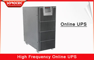 China 6KVA 5.4KW High Frequency Online UPS Large LCD display and Intelligent Battery Monitors supplier