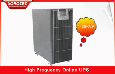 China PF 0.9 1-20KVA High Frequency Online UPS , black uninterruptible power supplies supplier