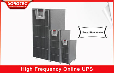 China No Break 20kva 18kw 380vac uninterruptible power supplies , high frequency ups for Telecom supplier