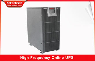 China 3 / 1 Phase 380VAC / 220VAC High Frequency Online UPS with 0.9 Power Factor , 10-20KVA supplier