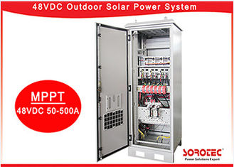 High Efficiency 48V DC Power Supply , Residential Solar Power Systems with Rectifier Module,Remote Monitoring
