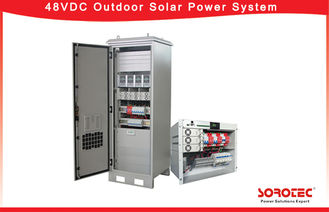 48VDC Telecom Solar Power Systems , Outdoor Telecom Rectifier System 50A Maximum Input