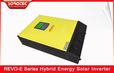 China LCD Display Hybrid Solar Inverter 3KW 3.2KW 5.5kW Pure Sine Wave On / Off Grid supplier