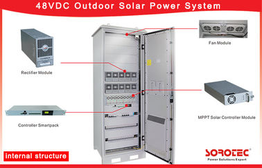 China IP55 Telecom Solar Power Systems With Remote Monitoring System Operation supplier