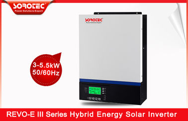On / Off Grid Series Hybrid Solar Power Inverter 60A REVO E PLUS 50Hz 60Hz