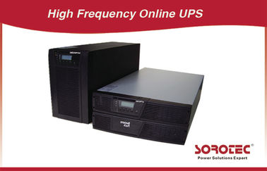 China 0.9 Output Online Rack Mountable UPS RS232 50/60Hz for VoIP factory