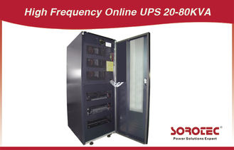 China 20 - 80 KVA Three - phase 4 line Uninterrupted Power Supply, High Frequency online UPS factory