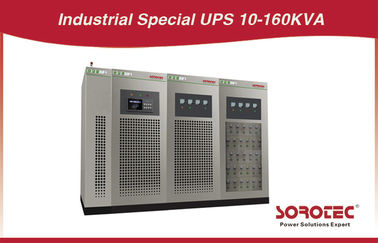 China 10KVA/8KW Industrial Grade UPS Three Phase Online UPS Pure Sine Wave supplier
