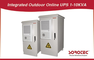 Double - conversion uninterruptible high power 0.7 factor Outdoor UPS 3KVA / 2400W