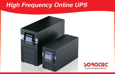 China 1, 2, 3 KVA 220V - 240V AC High Frequency Online UPS with RS232, SNMP, USB / 8A 50 - 60 Hz factory
