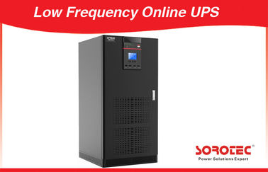 China 380V 1ph 2.9ln 300KVA / 270KW Low Frequency Online UPS LCD to provide electricity  in theater or  other place factory