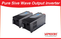 China Sine wave Output Solar Power Inverters visual alarm with Circuit breaker factory