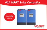 China 12V/24V/48V 60A MPPT Solar Charge Controller for Hybrid Solar Power Inverter company